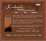 Click here to see the new Kashmir Restaurant site.